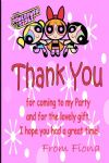 Personalised Powerpuff Girls Thank You Cards